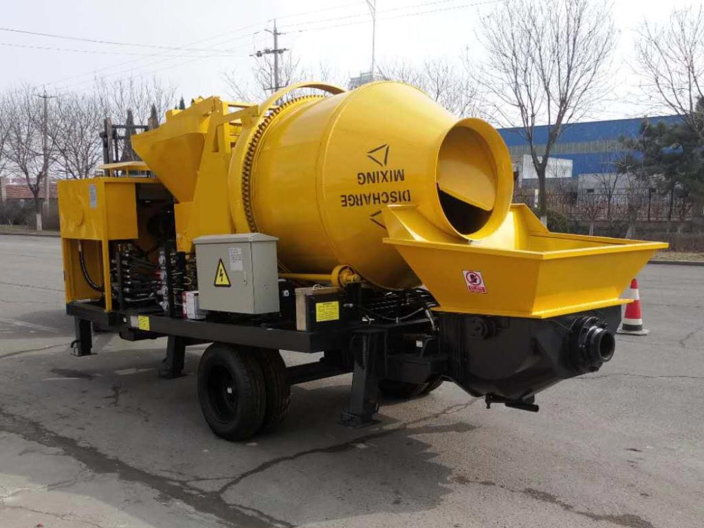 40 Concrete Mixer Pump in Indonesia