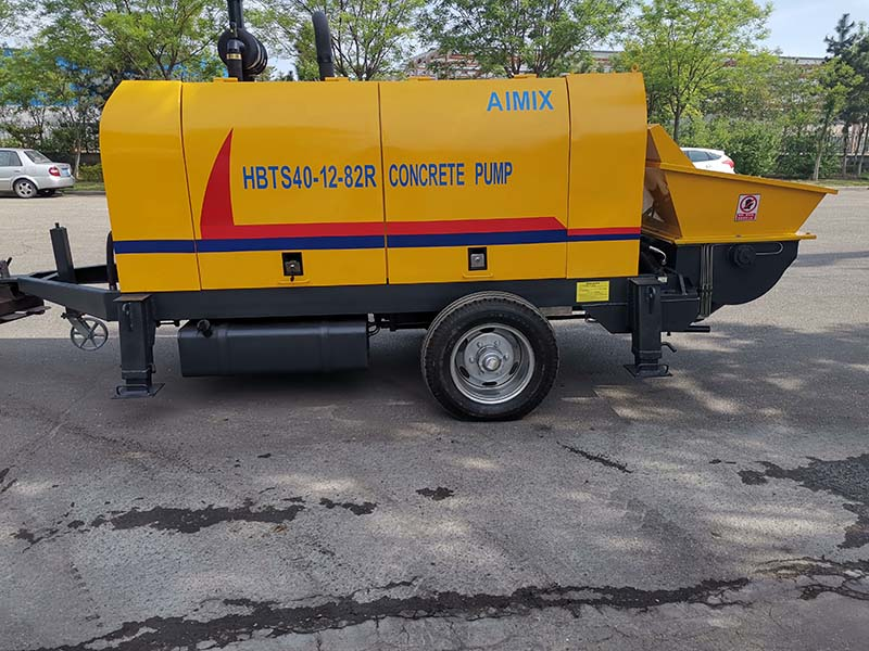 ABT40C Trailer Concrete Pump in Pakistan