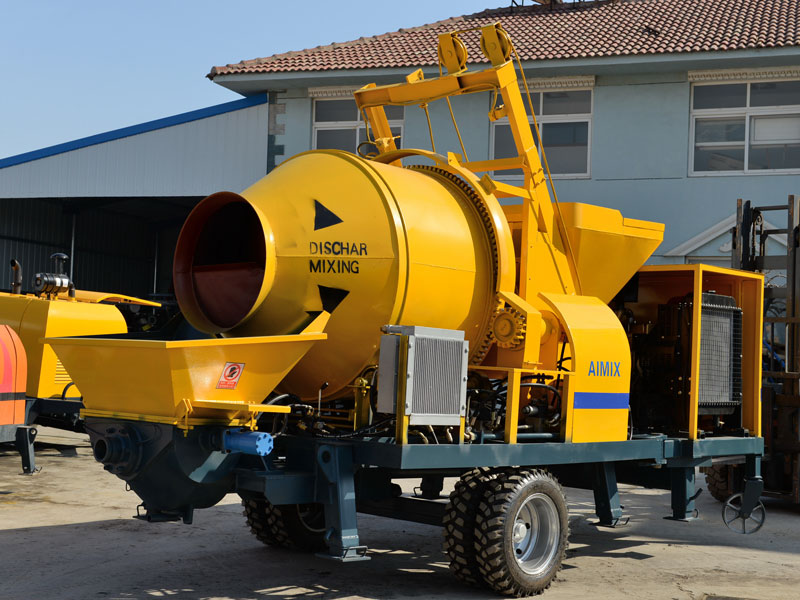 ABJZ30C diesel small portable mixer pump