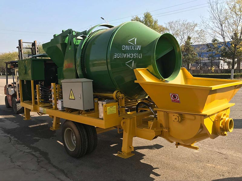 Mini Diesel ABJZ40C Concrete Pump in Philippines