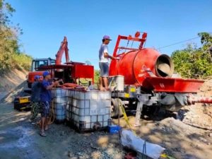 Concrete Mixer Pump In Lungsodng Laoag Philippines