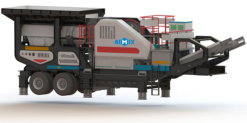 VPE mobile jaw crusher plant
