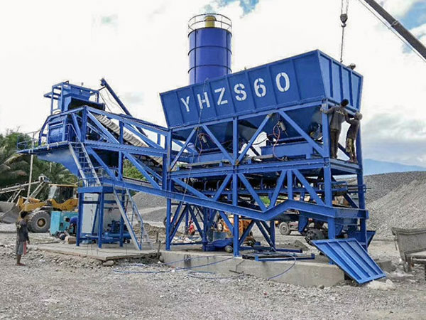 AJY60 mobile batch plant for sale in Philippines