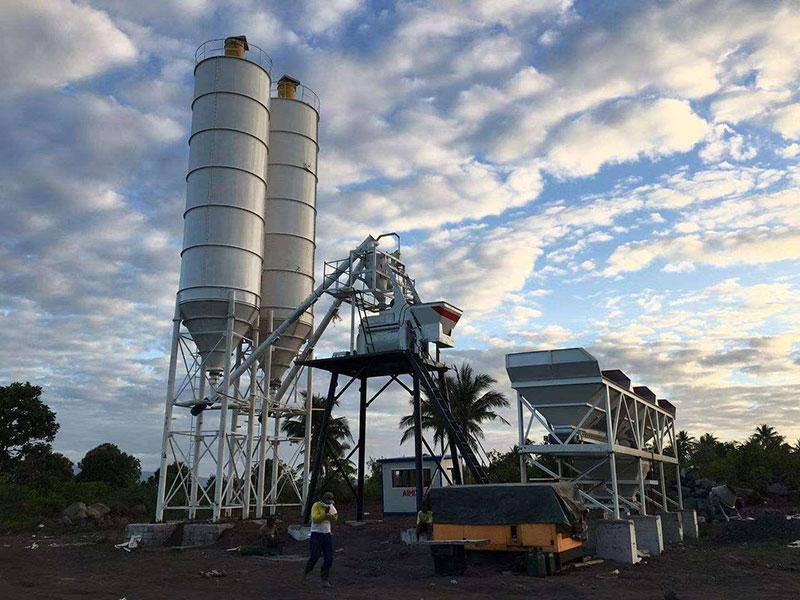 50m3/h Concrete Batching Plant AJ-50