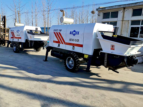 ABT40C Trailer concrete pump to Philippines