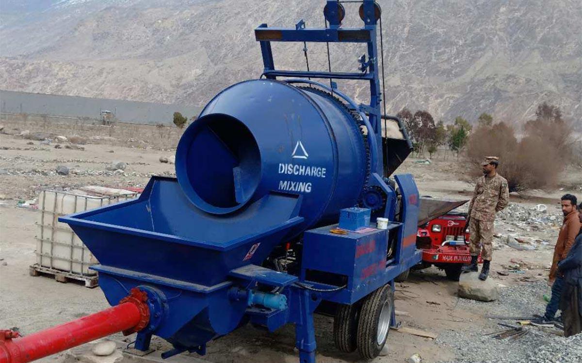 ABJZ40C Concrete mixer pump in Pakistan