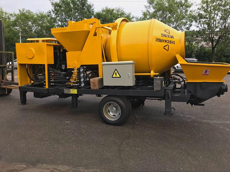 ABJZ40C with a mixer