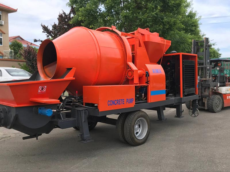 ABJZ40C with diesel engineer