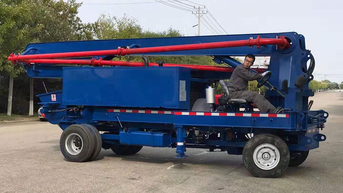 ABTB40R-14 concrete boom pump