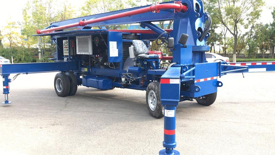 Concrete Boom Pump For Sale in Philippines