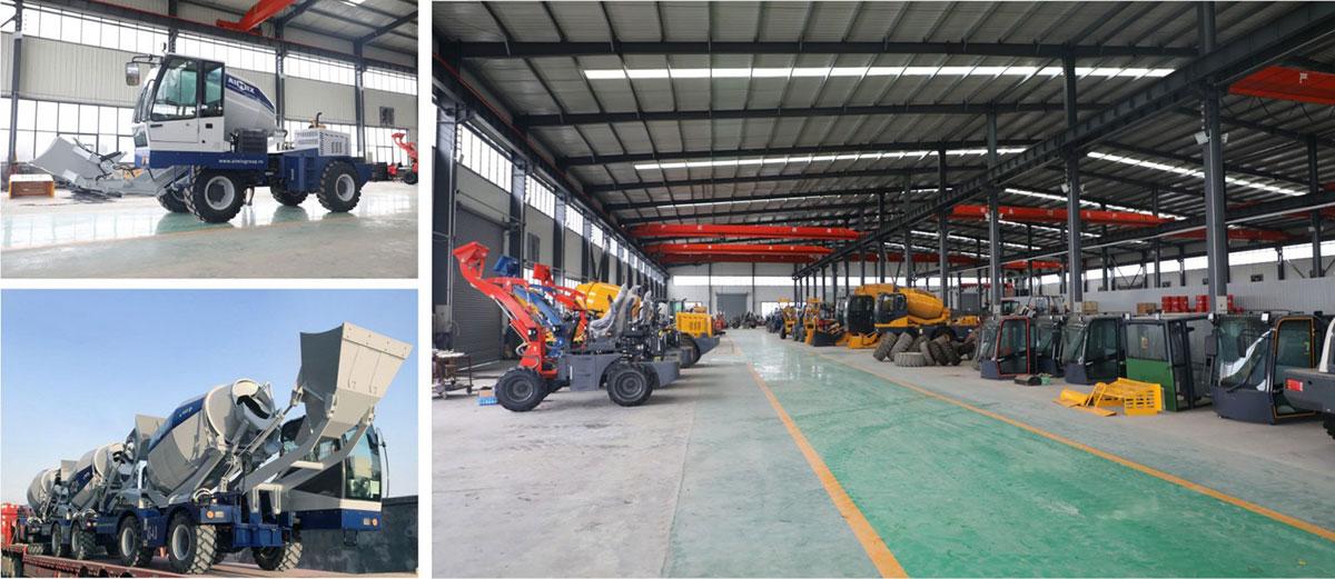 AIMIX self loading concrete mixer factory