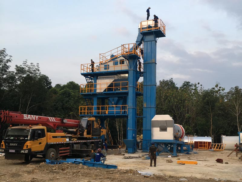 ALQ80 Asphalt plant in Indonesia
