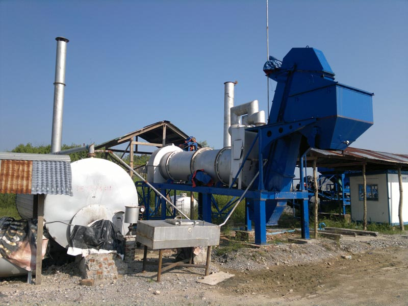 ALT40 Drum type asphalt plant in Myanmar