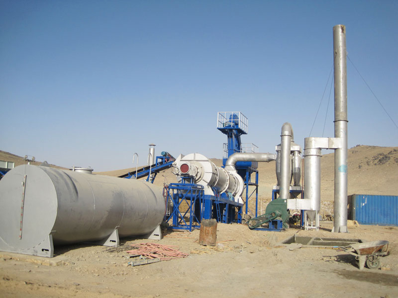 ALT60 Drum asphalt plant in Afghanistan