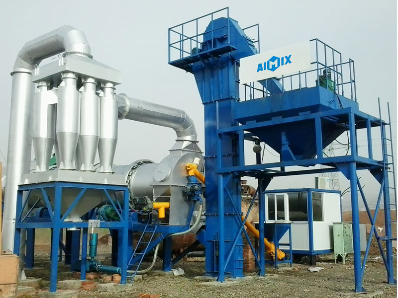 ALT60 continuous drum type asphalt plant in Afghan