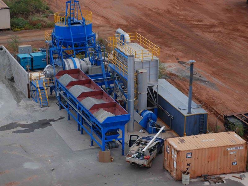 ALYJ40 mobile type hot mix plant