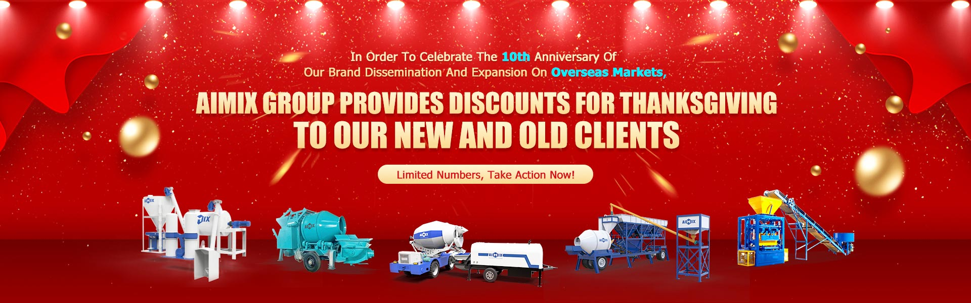 AIMIX in Philippines Year End Promotion all products