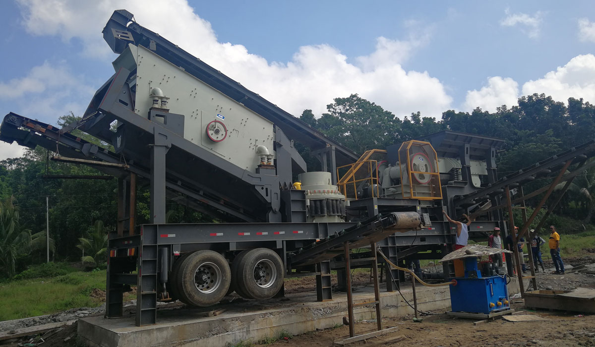 50T Combined Mobile Crushing Plant