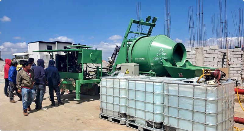 ABJZ40C Concrete Mixer Pump in Cavite, Philippines