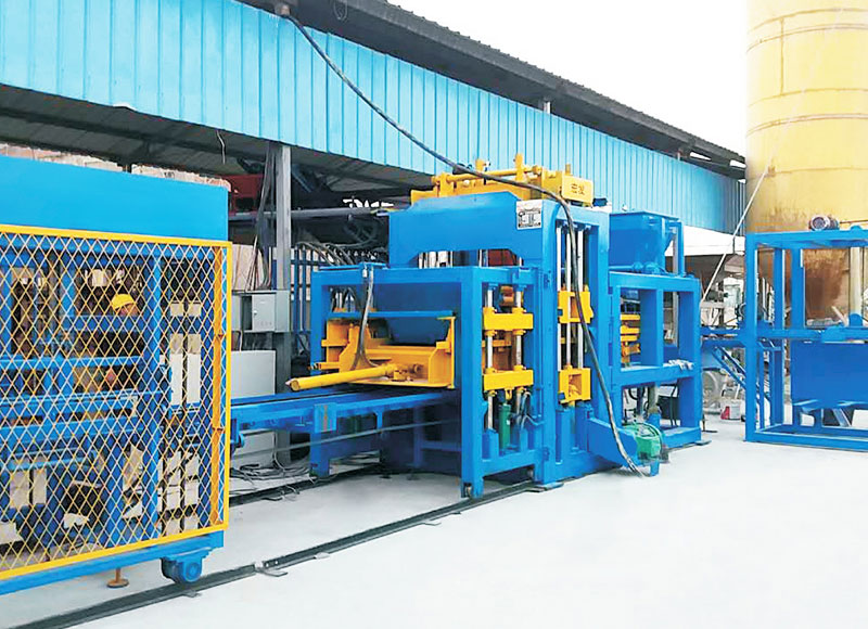 Block Making Machine - with Different Molds