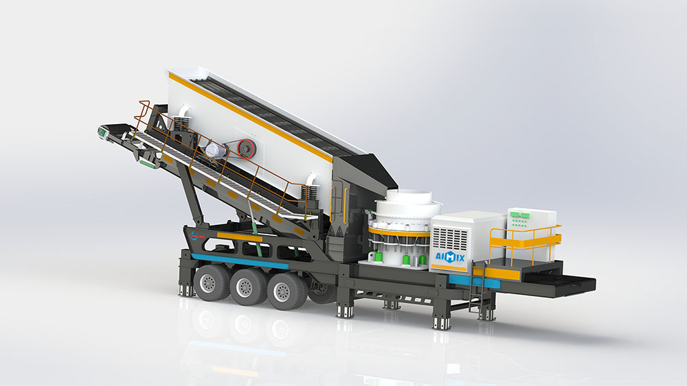 Cone Mobile Crusher For Sale