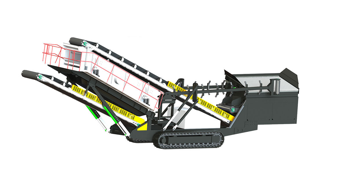 Crawler Type Mobile Crushing Plant For Sale