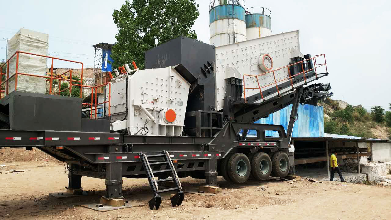 Impact Mobile Crusher Plant in the Philippines