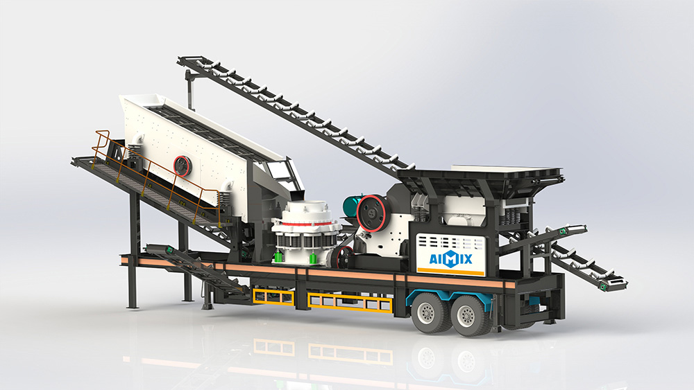 VPM-4 Combined Mobile Crushing Plant
