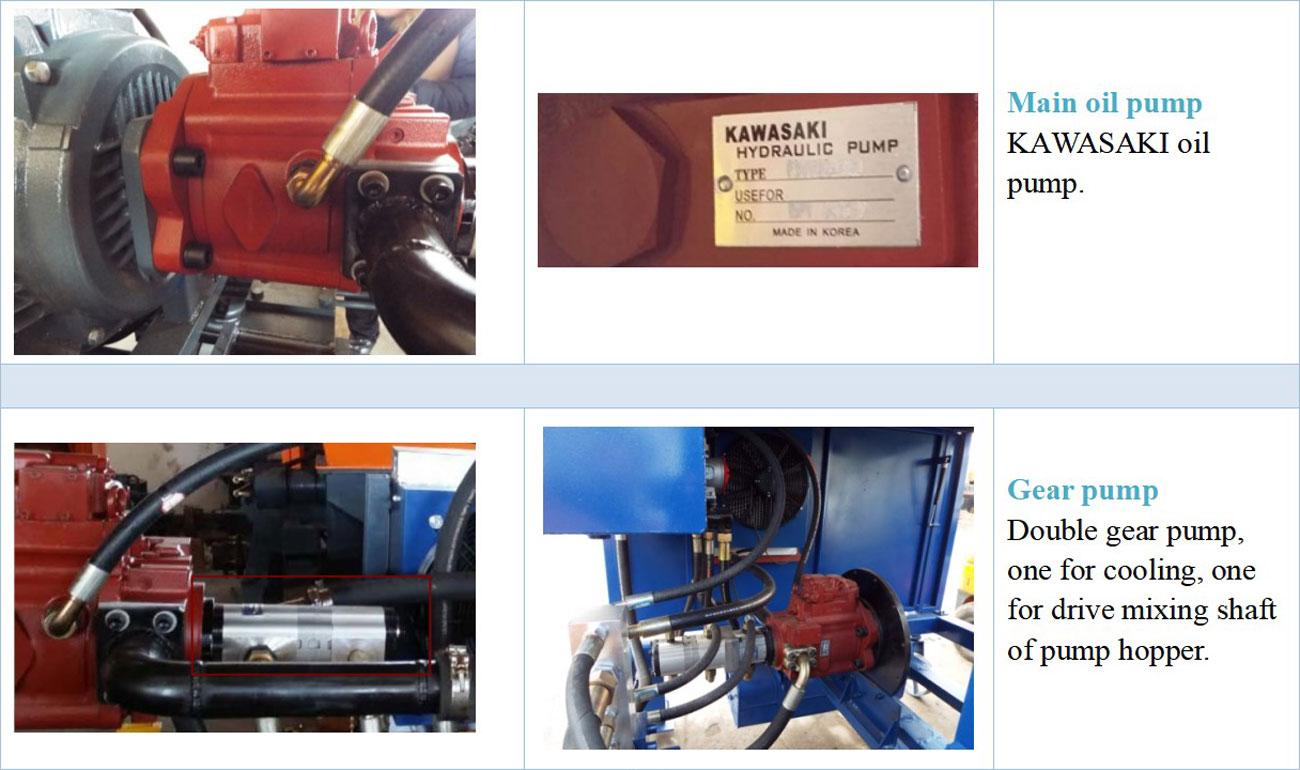 Diesel Concrete Pump Component