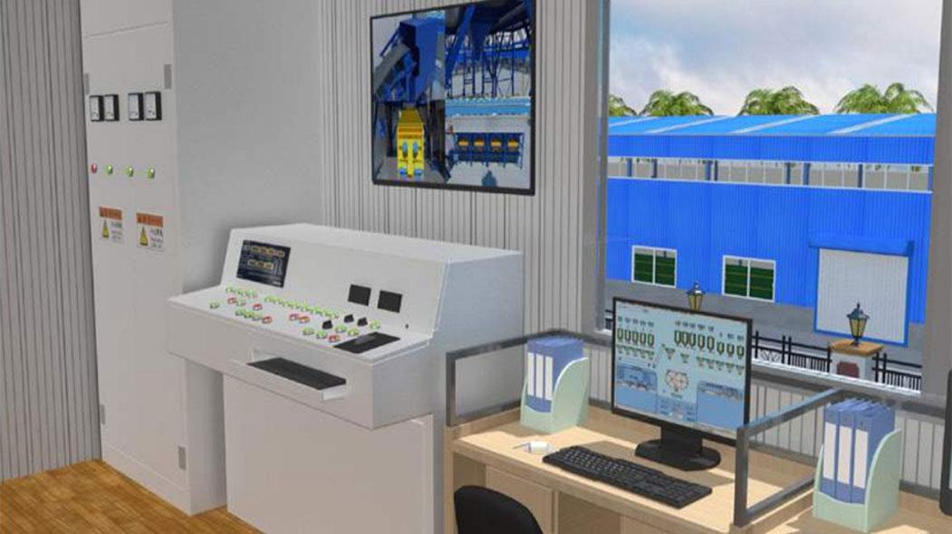 Ready mix concrete plant PLC Control System