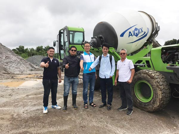 AS-2.6 self-loading mixer machine in Batangas